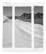 Kelso Dunes Triptych Fleece Blanket