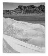 Kelso Sand Dunes 2 Bw Fleece Blanket