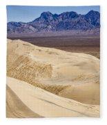 Kelso Sand Dunes 2 Fleece Blanket