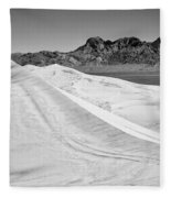 Kelso Sand Dunes Bw Fleece Blanket