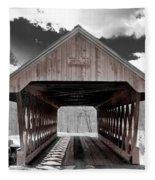 Keniston Bridge Fleece Blanket