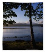Kenmare Bay, Ring Of Kerry In Bg, Co Fleece Blanket