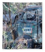 Kent Chevy Truck Fleece Blanket