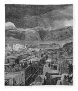 Khyber Pass Fleece Blanket