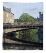 Kilkenny Castle, Kilkenny, Co Kilkenny Fleece Blanket