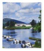 Killaloe, County Clare, Ireland Fleece Blanket