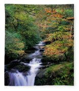 Killarney National Park, Ring Of Kerry Fleece Blanket