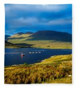 Killary Harbour, Co Galway, Ireland Fleece Blanket