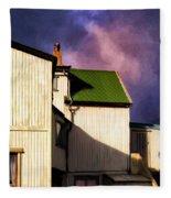Killer Storm Coming Fleece Blanket