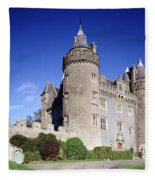 Killyleagh Castle, Co. Down, Ireland Fleece Blanket