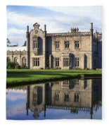 Kilruddery House And Gardens, Co Fleece Blanket