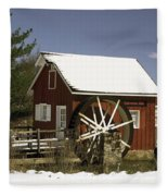 Kimberton Mill Fleece Blanket