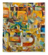 Kindness And Mercy Are Before Hashem's Glory Fleece Blanket