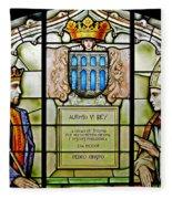 King Alfonso Vi ... Fleece Blanket
