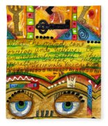 King Of Keys Fleece Blanket
