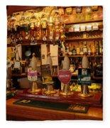 Kings Head Pub Kettlewell Fleece Blanket