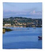 Kinsale, Co Cork, Ireland Boat With Fleece Blanket