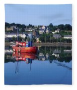 Kinsale Harbour, Co Cork, Ireland Fleece Blanket