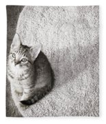 Kitty's Shadow Fleece Blanket