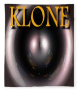Klone Book Cover Fleece Blanket