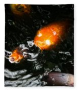 Koi Chorus Fleece Blanket