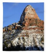 Kolob Canyon Utah Fleece Blanket