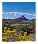 Kolob Terrace Afternoon Fleece Blanket