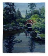 Kubota Reflections Fleece Blanket