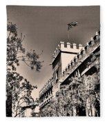 La Lonja De La Seda - Valencia Fleece Blanket