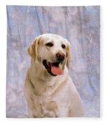 Labrador Retriever Fleece Blanket