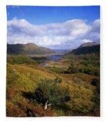 Ladies View, Killarney, Co Kerry Fleece Blanket