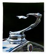 Lady Cadillac 1931 Fleece Blanket