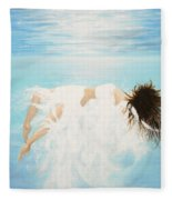 Lady Of The Water Fleece Blanket