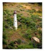Laguna Beach Light Tower Fleece Blanket