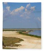 Laguna Madre At Laguna Atascosa Fleece Blanket