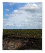 Lake Begone Fleece Blanket