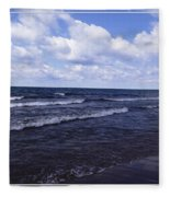 Lake Erie At Evangola State Park 2 Fleece Blanket