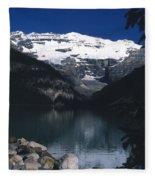 Lake Louise II Fleece Blanket