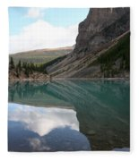 Moraine Lake - Lake Louise, Alberta Fleece Blanket
