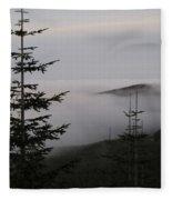 Lake Of Low Clouds Fleece Blanket