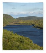 Lake Of The Clouds 1 Fleece Blanket