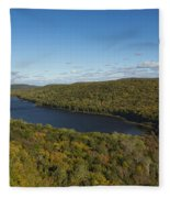 Lake Of The Clouds 3 Fleece Blanket