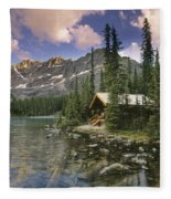 Lake Ohara Lodge Fleece Blanket