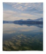 Lake Pend Orille  Fleece Blanket