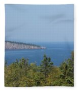 Lake Superior Shovel Point 2 Fleece Blanket