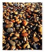 Lake Superior Stones Fleece Blanket
