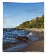 Lake Superior Union Bay 4 Fleece Blanket