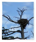 Lake Tahoe Eagle Nest Fleece Blanket