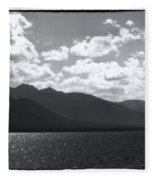 Lake Tahoe Heavenly Fleece Blanket