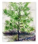 Lake Tahoe Tree Fleece Blanket